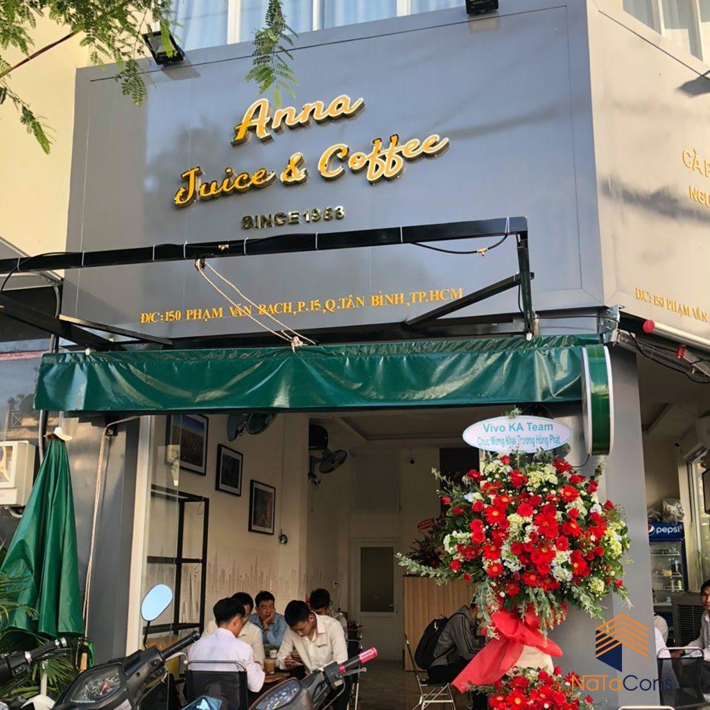 THI CÔNG QUÁN CÀ PHÊ ANNA JUICE & COFFEE